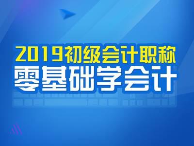 2019年初级会计实务(精讲)