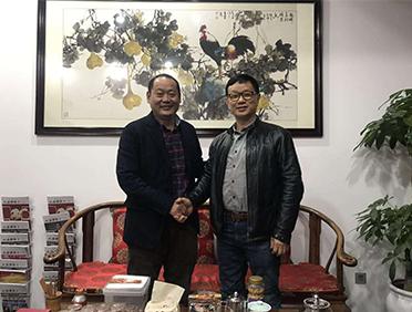 李亚董事长到访上海福建商会/企联